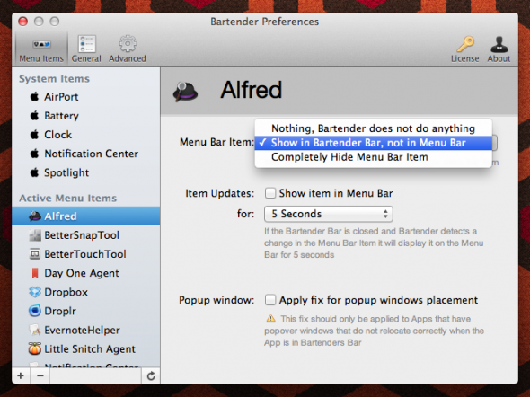 Screen Shot 2012 08 01 at 17.50.13 590x442 Bartender: tidy up your Mac menu bar