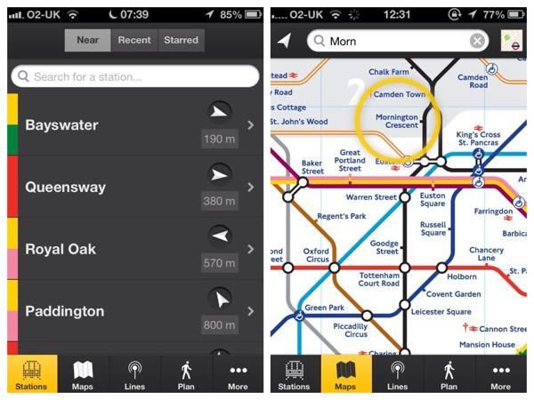 london tube apps tube tracker
